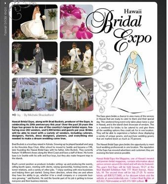 Hawaii Bridal Expo 2013
