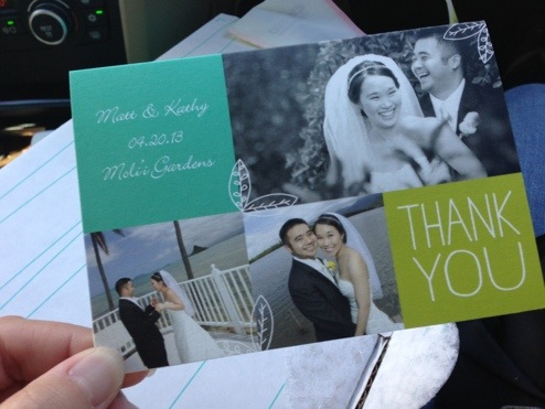 Thank You Cards!